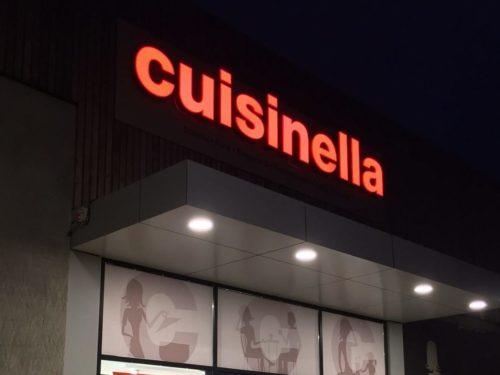 Enseigne Cuisinella