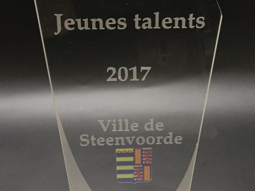 Trophée jeunes talents