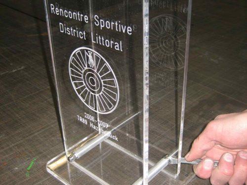 Trophée rencontre sportive