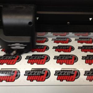 stickers découpé a la forme hazebrouck