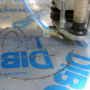 découpe dibond plexi aluminium pvc hazebrouck
