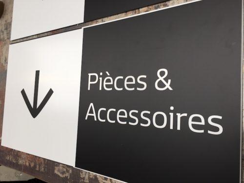 Plaque en alu pièces et accessoires
