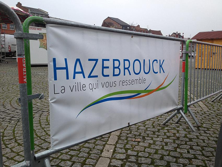 bâche mairie hazebrouck