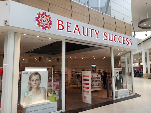 enseigne beauty success
