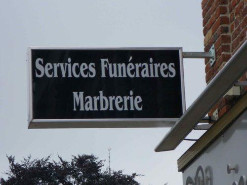 Caisson service funéraire