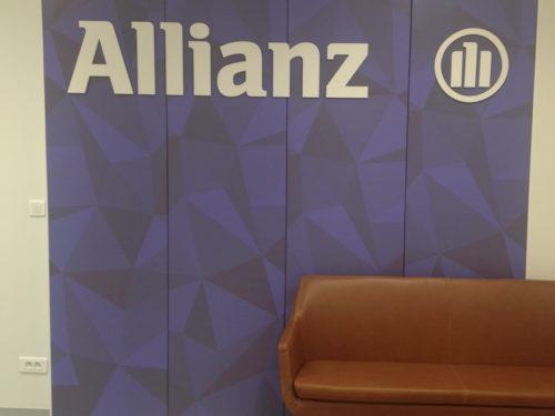 Allianz Mural