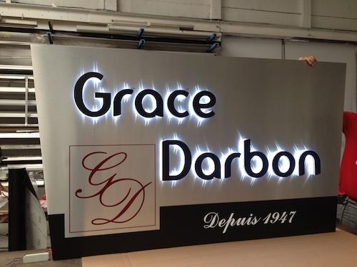 Enseigne Grace Darbon