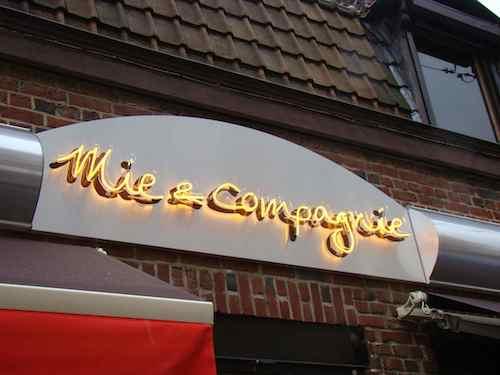 Enseigne néon Mie & Compagnie