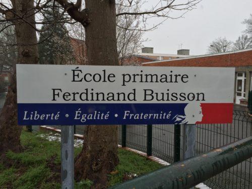 Panneau école primaire