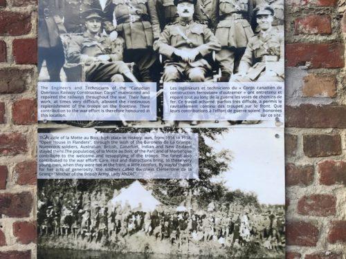 Panneau historique