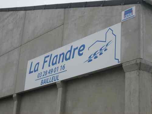 Panneau La Flandre