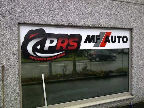 Panneau PRS moto