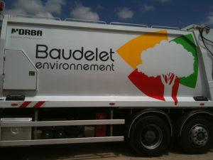 lettrage camion baudelet