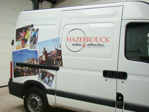 Véhicule Mairie Hazebrouck