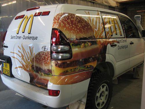 Véhicule McDonald's