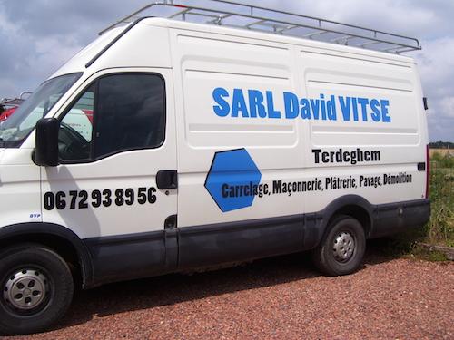 Véhicule SARL David Vitse